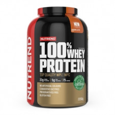 – Nutrend 100% Whey Protein 2,25 kg+ Bcaa Mega Strong 300g Zdarma!