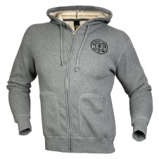 Gold's Gym – Gold's Gym Mikina Šedá Thermal Zip Hoodie