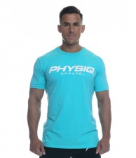 Gold's Gym – Physiq Apparel Supreme Shirt Aqua