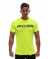 Gold's Gym – Physiq Apparel Speckled Supreme Shirt Volt
