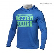 BIZON GYM – Better Bodies Pánská Mikina Soft Hoodie Bright Blue