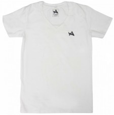 NEBBIA – Aesthetix Era Tee V-Neck White Black