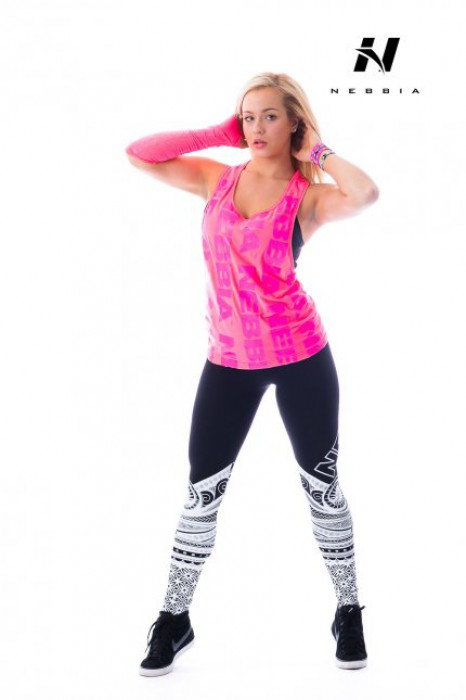 Nebbia Tílko Neon 226 růžové 649c40bfa3