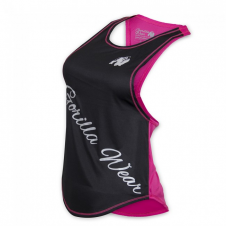 Topy od FULLSPORTU – Gorilla Wear Women´s Florida Stringer Tank Top Black/Pink