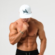Gold's Gym. – Aesthetix Era Kšiltovka Snapback White Green