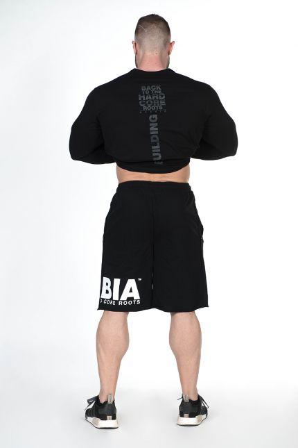Nebbia Pánské Fitness Šortky 343 Černé e2c230fd07