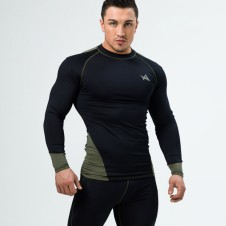 NEBBIA – Aesthetix Era Tee Compression Black