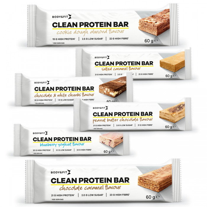 Body & Fit Clean Protein Bar 60g