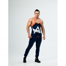 Better Bodies – Aesthetix Era Stringer Deluxe Navy/Orange