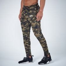 NEBBIA – Physiq PerformLite Camo Bottoms - Woodland