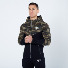 Better Bodies – Physiq PerformLite Camo Hoodie - Woodland