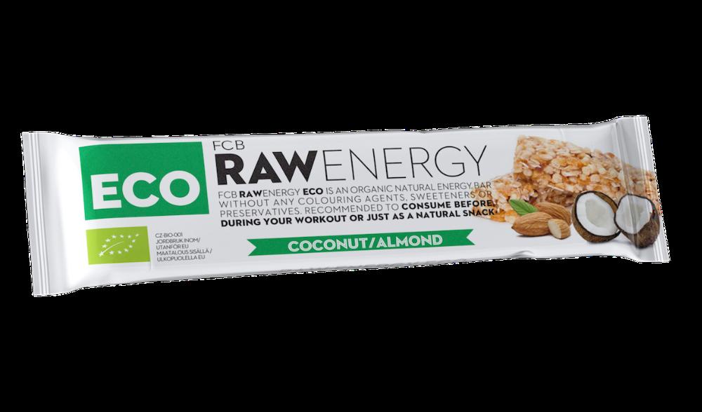 fcb raw energy. Energy Bar Coconut 244b319d9e3e5