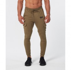 Legíny – Physiq Cargo Bottoms - Khaki
