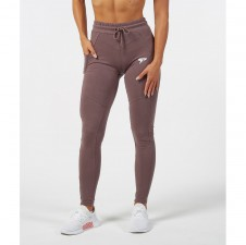 Fitness tepláky – Physiq Sculpt Fitted Bottoms - Ash Brown