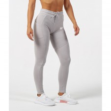 Fitness tepláky – Physiq Sculpt Fitted Bottoms - Mist Grey