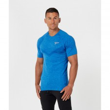 Gold's Gym – Physiq Avid Seamless TShirt Blue