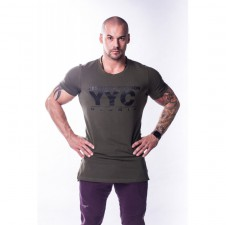 Physiq Apparel – Nebbia Athletic Logo tričko 730 khaki