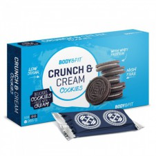 Fitness potraviny – Body & Fit Crunch & Cream Cookies 265 gramů Exp 28/2/2019