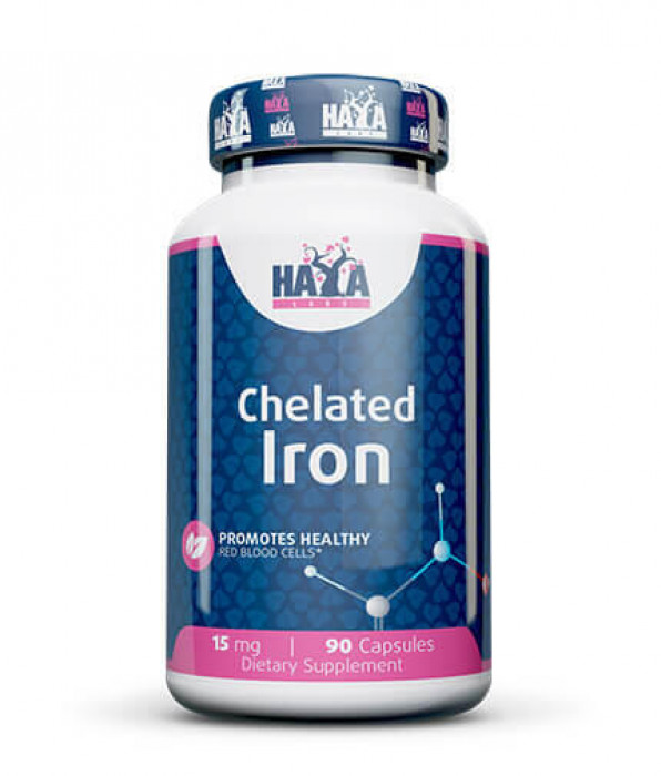 HAYA LABS CHELATED IRON 15MG