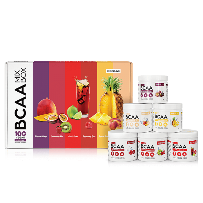 BODYLAB BCAA MIX BOX